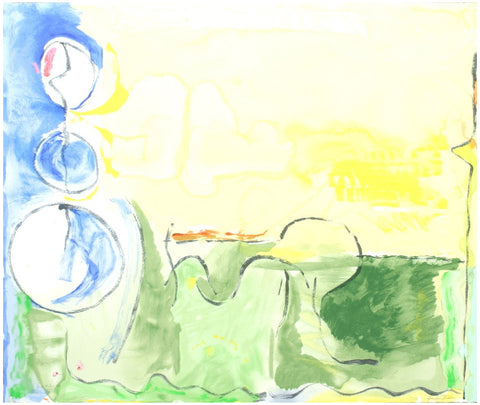"Helen Frankenthaler (American, 1928-2011), ""Flotilla"", 2006, screenprint in colors, signed, ed. 120"