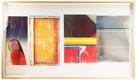 James Rosenquist (American, b. 1933), Horse Blinders (South), 1972, lithograph and screenprint, signed, ed. 85