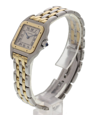 Ladies Cartier Panthere 18K Yellow Gold and Stainless Steel 1057917