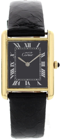 Ladies Cartier Tank Argent 027570 Mechanical Watch