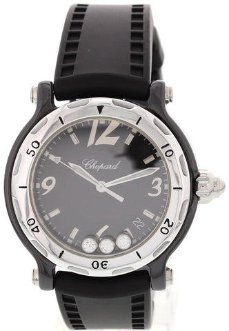 Ladies Chopard Happy Sport Limited Edition Ceramic 28/8507