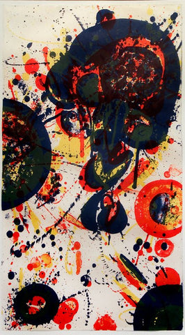"Sam Francis (American, 1923-1995), ""Tokyo mon amour"", 1963, lithograph in colors"