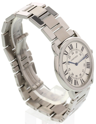 Men's Cartier Ronde Solo Stainless Steel Watch 2934