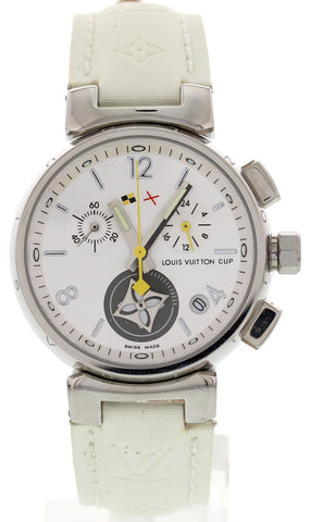 Ladies Louis Vuitton Stainless Steel Chronograph LV2002