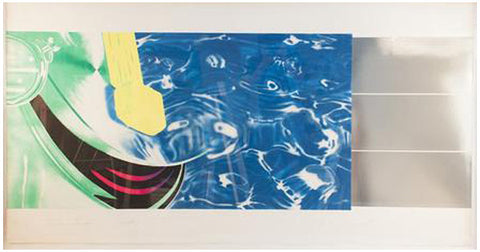 James Rosenquist (American, b. 1933), Horse Blinders (West), 1972, lithograph and screenprint, signed, ed. 85