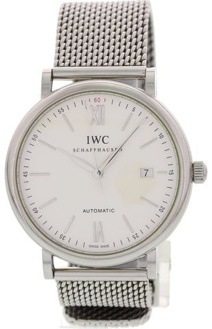 Men's IWC Schaffhausen Portofino Stainless Steel Automatic IW3513