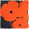 Donald Sultan (American, b. 1951), Red Poppies II, 2007, screenprint, signed, ed. 75