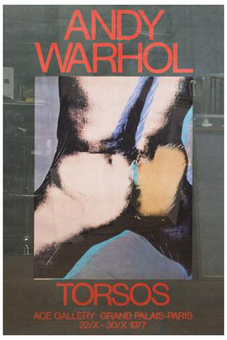 "After Andy Warhol (American, 1928-1987), ""Torsos"", Ace Gallery, Paris, 1977, offset lithograph"