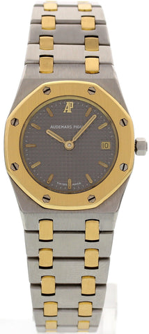 Ladies Audemars Piguet Royal Oak 18K Gold and Stainless Steel Watch