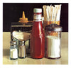 Ralph Goings (American, b. 1928), Still Life with Straws, 1978, offset lithograph, signed