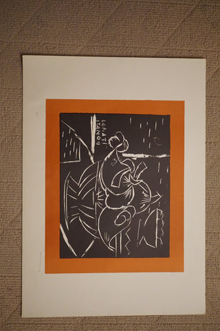 Lazzaro Donati (Italian, 1926-1977), Group of eight prints, signed and inscribed, ca. mid-1970s