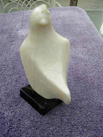 Ralph Hurst (American, 1918-2003), Bird Form, 1978, carved soapstone, signed and dated