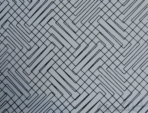 "François Morellet (French, b. 1926), ""Untitled (Diagonals)"", ca. 1970, screenprint, signed and numbered"