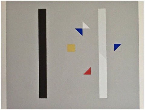 Friedrich Vordemberge-Gildewart (German, 1899-1962), Untitled (Abstract), screenprint, ed. 100