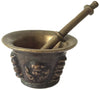 Cast Bronze Mortar and Pestle