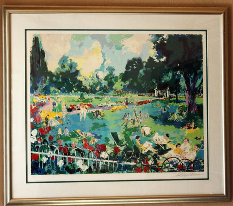 "LeRoy Neiman (American, 1921-2012), ""Regents Park"", 1984, screenprint, signed and numbered"