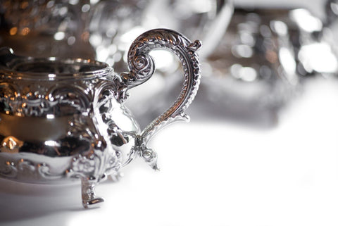 English Silver Three Piece Tea Set, Robert Hennell, London, 1830/1839