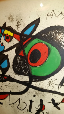 Joan Miró (Spanish, 1893-1983), Poster for the Exhibition 'Sobreteixims i escultures', Sala Gaspar, Barcelona, 1972 (Mourlot 848)