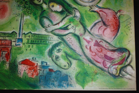 "Charles Sorlier after Marc Chagall, ""Paris: l'Opera (Romeo and Juliet),"" 1964, signed (Mourlot CS 10; Sorlier 96)"