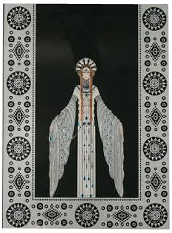 "Erté (Romain de Tirtoff) (Russian/French 1892-1990), ""Byzantine"", 1986, screenprint, ed. 500 (Lee 126)"