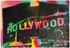 Steve Kaufman (American, 1960-2010), Hollywood, mixed media on canvas, ed. 75