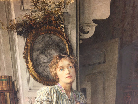 Laura Theresa Alma-Tadema (English, 1852-1909), The Parting, watercolor and gouache on paper