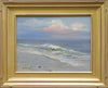 "Robert Waltsak (American, b. 1944), ""Jersey Shore"", oil on board, signed"