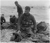 "Walter Rosenblum (American, 1919-2006), ""D Day Rescue"", gelatin silver print, taken 1944, printed later, signed"