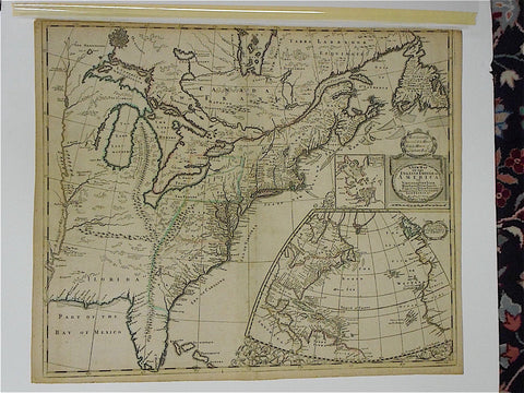 """A New Map of the English Empire in America..."", John Senex (English 1690-1740), 1719"