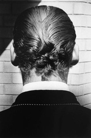 "Ralph Gibson (American, b. 1939), ""Untitled"" (Back of Man's Head), 1975, gelatin silver print, signed, AP"
