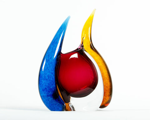 Young & Constantin (Christopher Constantin and Kathy Young) Art Glass Vessel, American, 20th century