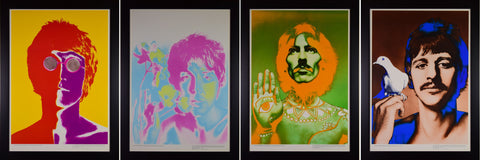 "Richard Avedon (American, 1923-2004), ""The Beatles"", 1967, set of four color offset lithographs"