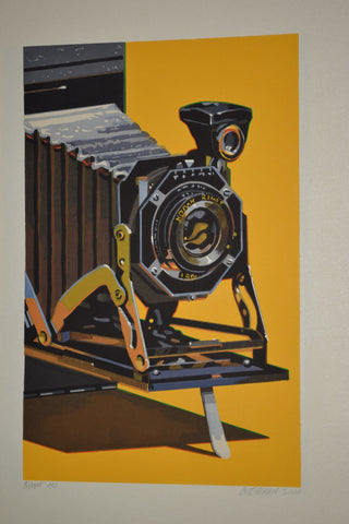 Robert Cottingham (American, b. 1935), Camera Suite, 2000, woodblock on paper, signed