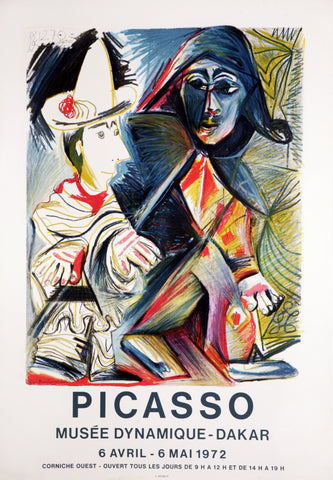 "After Pablo Picasso (Spanish, 1881-1973), ""Musée Dynamique, Dakar"", 1972, lithographic poster"