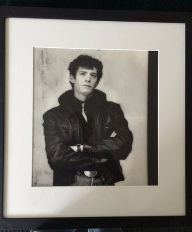 Gilles Larrain (French, b. 1938), Portrait of Robert Mapplethorpe, New York, taken 1984, gelatin silver print, signed