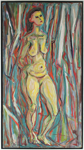 Richard Van Wingerden (Dutch/American, 1893-1969), Untitled (female nude), circa 1950, oil on canvas