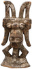 Igbo Ikenga Figure, wood, pigment and encrustation, Nigeria, early 20th century