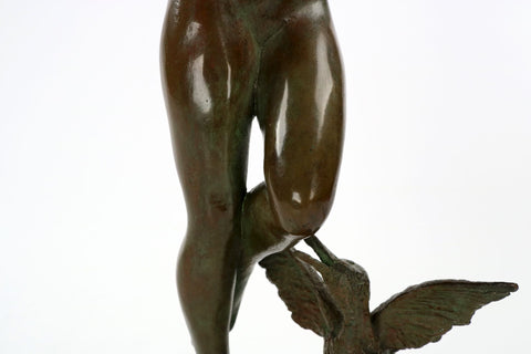 "Bonnie MacLeary (American, 1890-1971), ""Squawkie Birds"",  ca. 1930, bronze, signed"