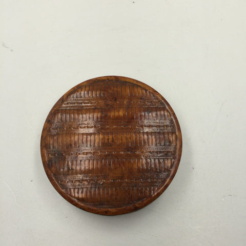 French Pressed Wood Snuff Box, early 19th century