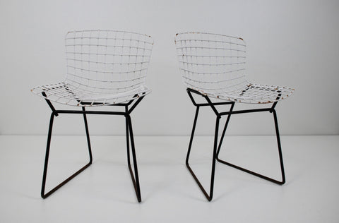 Pair of Children's Chairs, designed by Harry Bertoia  (American, 1915-1978), manufactured by Stiegler, ca. 1953