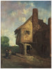 Gerald Summers (British, 1907-1938), French Country Inn, oil on canvas, signed