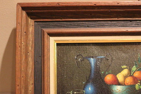 Attributed to Salvatore Langella (Italian, 20th century), Still Life, oil on canvas, signed