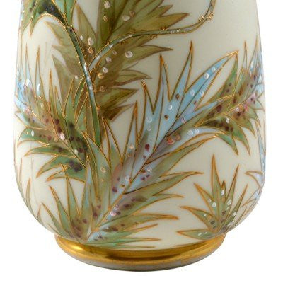 American Glass Vase, Mt. Washington Glass Works, New Bedford, MA., ca. 1900s