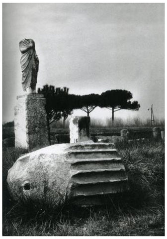 Max Peiffer-Watenphul (German, 1896-1976), Ostia Antica, ca. 1932, photograph, signed