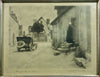 "Albert E. Schaaf (American/Canadian, 1866-1950), ""Through a French Village"", 1905, bromoil print, signed"