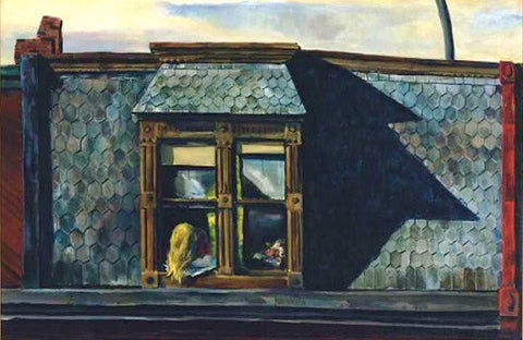 "Charles  Taylor (American, 1910-1975), ""Attic Windows"", 1954, oil on canvas, signed"