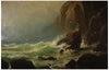 Lemuel D. Eldred (American, 1848-1921), Coast of Maine, ca. 1879, oil on canvas, signed