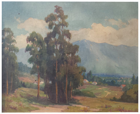 Attributed to Marion Wachtel (American, 1875-1954), California Landscape, oil on canvas, unsigned