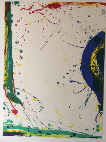 Sam Francis (American, 1923-1994), SF-315, 1986, lithograph in colors, signed, ed. 176