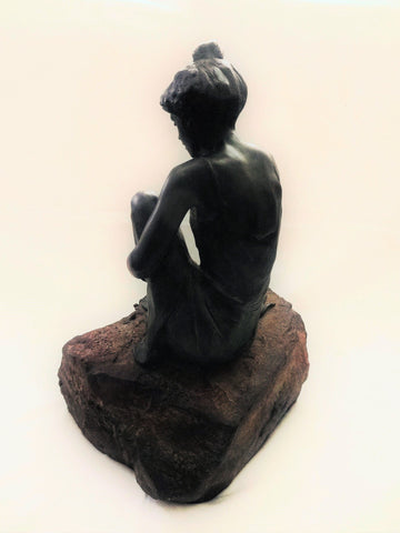 "Glenna Maxey Goodacre (American, b. 1939), ""Water Sprite IV"", ca. 1990, bronze, signed, ed. 35"